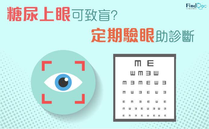 糖尿病性視網膜病變 (糖尿上眼)